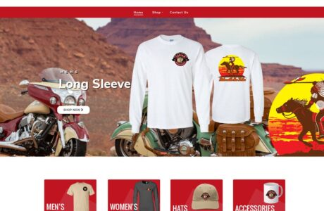 Ride With the Tribe WordPress Website Design