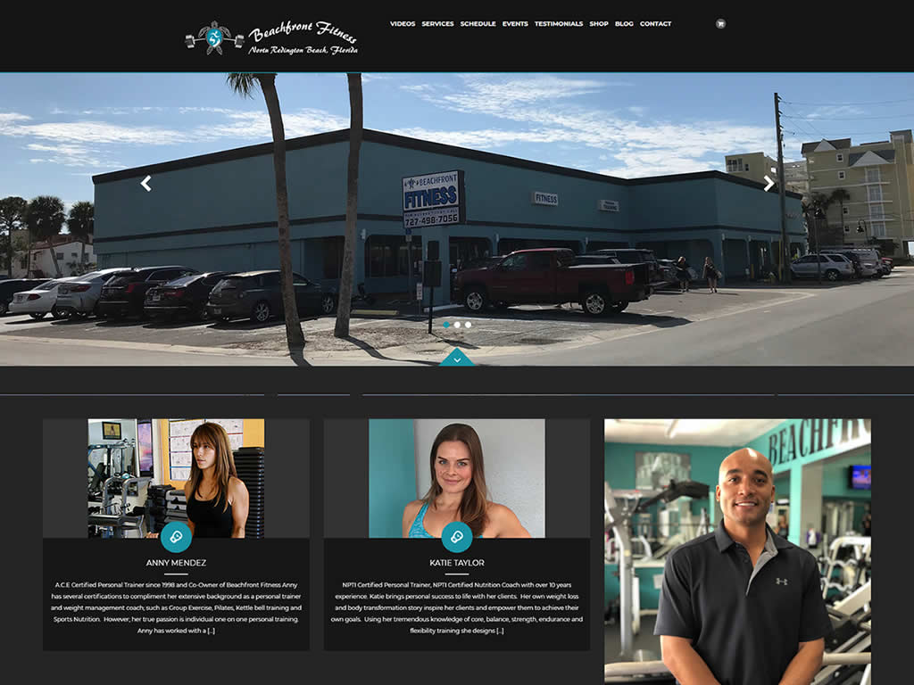 Beachfront WordPress Web Design