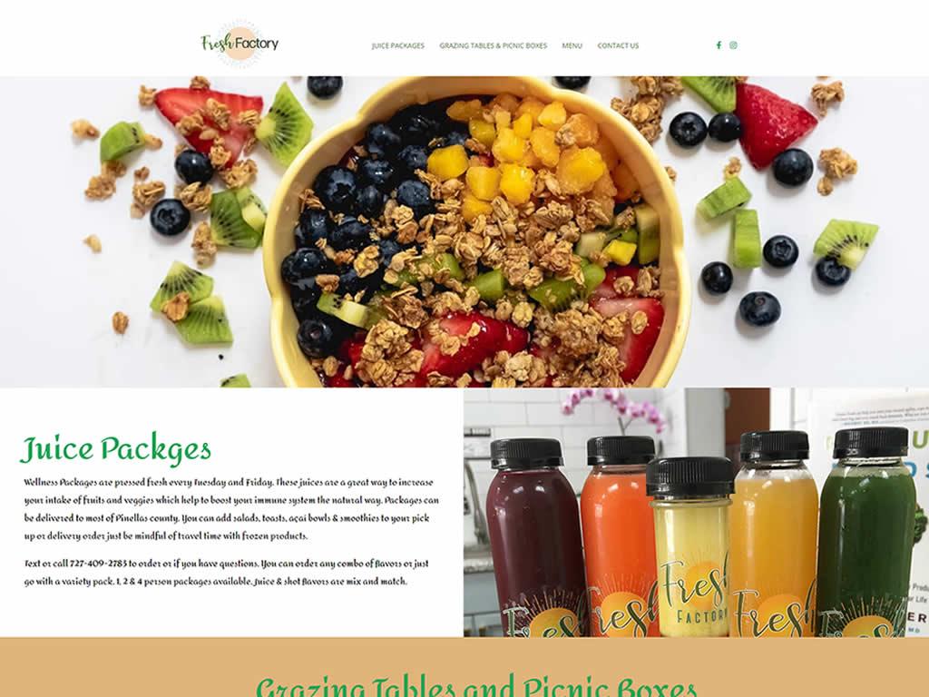 Fresh Factory - Premium WordPress Design Packages
