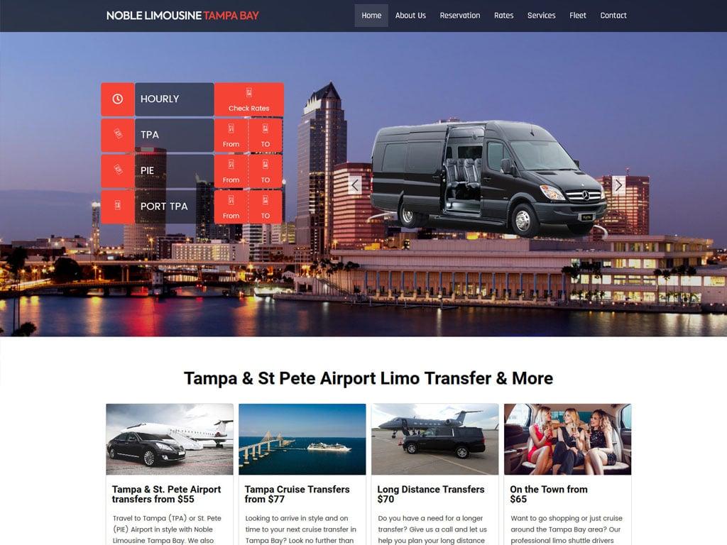 Noble Limos Tampa Bay