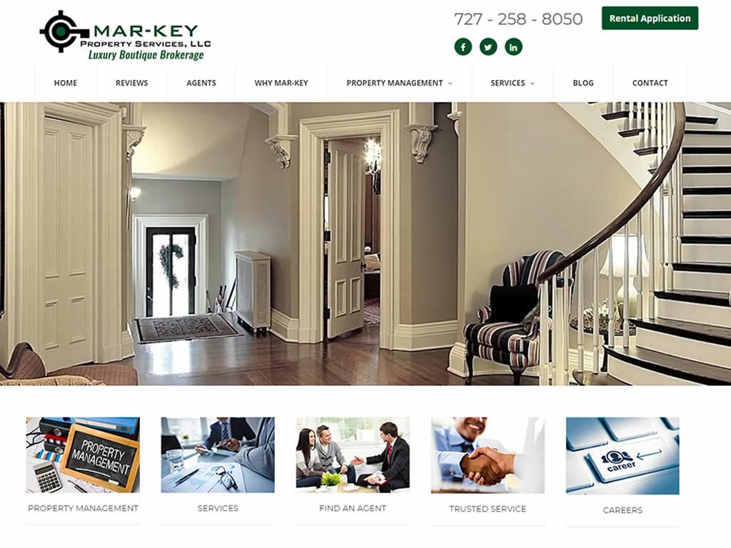 St Pete Real Estate Custom Web Design