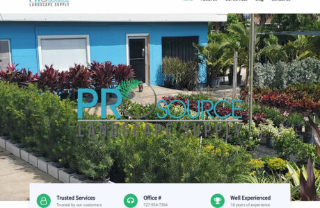 Pro Source Landscape Supply WordPress Website