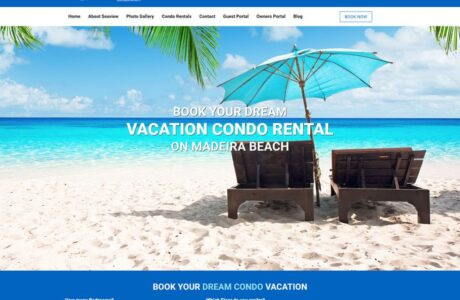 Seaview Condos WordPress Website Design