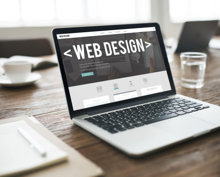 types of web design services